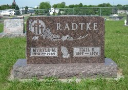 Myrtle Emilia <I>Yonke</I> Radtke