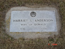 Harriet L. Anderson