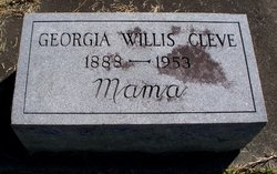 Georgia <I>Willis</I> Cleve