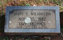 Mary Ethel <I>Burdine</I> Wilkinson