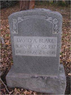 David A Blake