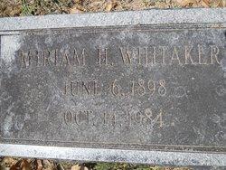 Miriam H Whitaker