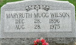 Maryruth <I>Mugg</I> Wilson