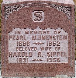 Pearl Lena <I>Blumenstein</I> Sippel