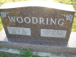 Leonard E Woodring