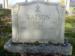 John W Watson
