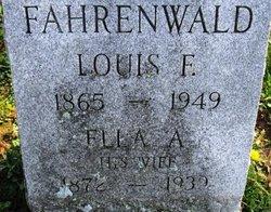 Louis F Fahrenwald