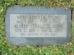 Audrey Charlotte <I>Dunn</I> Young