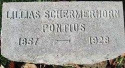 Lillias <I>Schermerhorn</I> Pontius
