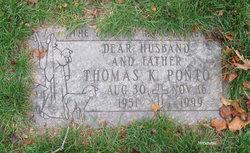 Thomas Kenneth Ponto