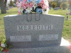 Paul E Meredith