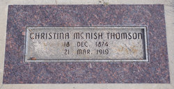 Christina <I>McNish</I> Thomson