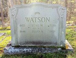 Susan M <I>Buttrick</I> Watson