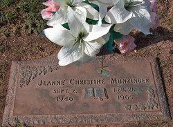 Jeanne Christine Munzinger