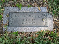 Betty Rae Wickstrom