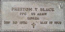 Preston T Black