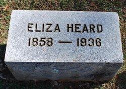 Eliza <I>Hixson</I> Heard