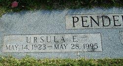 Ursula E. Pendergraft
