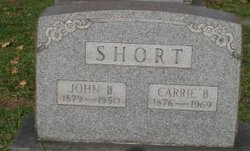 Carrie Blanche <I>Ewing</I> Short