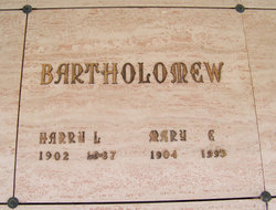 Harry Leland Bartholomew