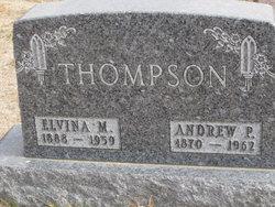 Elvina Paulina Maria <I>Nelson</I> Thompson