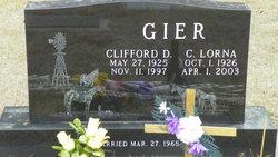 Clifford D Gier