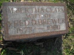 M. Bertha <I>Clark</I> Brewer