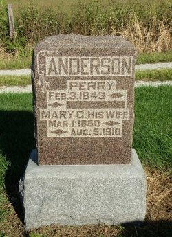 Mary C. <I>Henry</I> Anderson