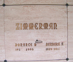 Dorance Homer Zimmerman, Jr