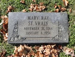 Mary <I>Ray</I> St. Vrain