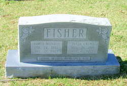 Julia <I>Crews</I> Fisher