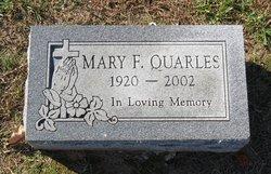 Mary F. Quarles