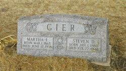 Martha F Gier