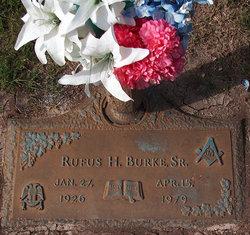 Rufus Harrison Burke, Sr