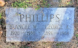 Blanche W Phillips
