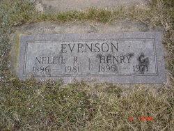 Nellie R. <I>Hegwood</I> Evenson