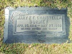Mary F E Christella Burney