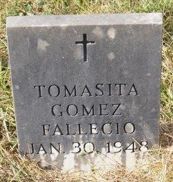 Tomasita <I>Salazar</I> Gomez