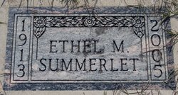 Ethel Mary Summerlet