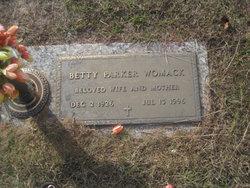 Betty <I>Parker</I> Womack