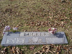 Mittie Ellen <I>Cude</I> Tucker