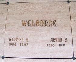 Martha Alice <I>Kress</I> Welborne