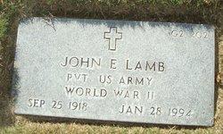John E Lamb