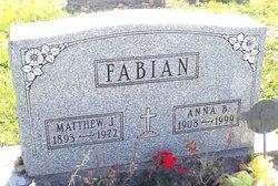 Anna B. <I>Matan</I> Fabian