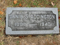 Annie S <I>Wall</I> Addington