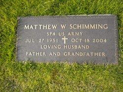 "Matthew William ""Matti"" Schimming"