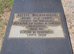 Ruth <I>Wilkinson</I> Thrower
