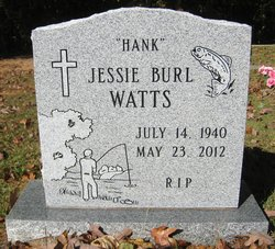 """Jessie Burl """"Hank"""" Watts"""