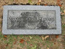 Nessie May <I>McCrea</I> Leonard