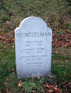 Katherine Ticknor <I>Sloman</I> Heintzelman